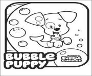 Bubble Guppies Puppy Cute Dog dessin à colorier