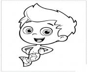 Coloriage Bubble Guppies Printable 3
