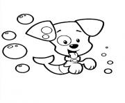Bubble Guppies dog dessin à colorier