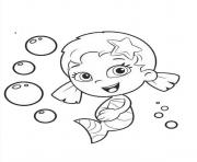 Bubble Guppies 9 dessin à colorier