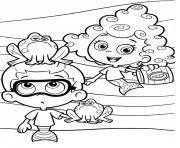 Coloriage Bubble Guppies Printable 6