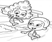 Coloriage Bubble Guppies 3