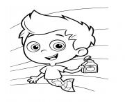 Coloriage Bubble Guppies 10