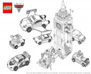 Coloriage lego cars 3 movie 2017