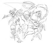 Dibujo Quantic enfants Miraculous Ladybug chat Noir dessin à colorier