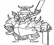 Coloriage clash royale pekka clash of clans