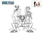 one piece geichiro shueisha manga dessin à colorier
