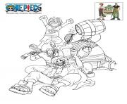 Coloriage one piece film geichiro shueisha toei animation