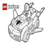 Coloriage lego spiderman 2 voiture lego