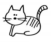 Coloriage Bebe Felin.Coloriage Chat A Imprimer Gratuit Sur Coloriage Info