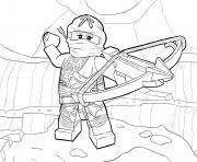 Coloriage lego ninjago dragon dessin