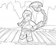 Coloriage LEGO Ninjago Lloyd Tournament of Elements