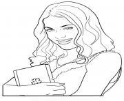 Coloriage chica vampiro imprimer colorier en ligne - Coloriage chica vampiro ...
