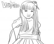 chica vampiro juliette vladimoff  dessin à colorier