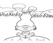 cybil india trolls dessin à colorier