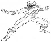 Coloriage power rangers free