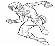 Coloriage power rangers super megaforce dessin