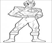Coloriage power rangers s free printable