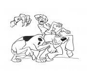 Scooby Doo Halloween dessin à colorier