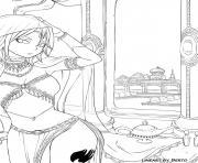 Coloriage Fairy Tail à Imprimer Gratuit Sur Coloriageinfo