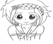 Coloriage cute levy mcgarden fairy tail