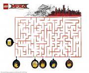 coloriage jeu ninjago lego a imprimer - Ninjago Nouvelle Saison