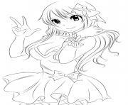 Coloriage Fairy Tail à Imprimer Dessin Sur Coloriage Info