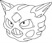 Coloriage oniglali pokemon