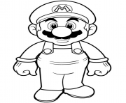 super mario bros hd dessin à colorier