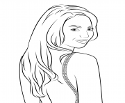 Coloriage beyonce celebrite star