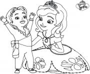 Coloriage Princesse Sofia Gratuit A Imprimer.Coloriage Princesse Sofia A Imprimer Dessin Sur Coloriage Info