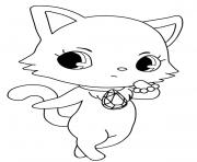 Coloriage Jewelpet Lapis