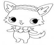 Jewelpet Milky dessin à colorier