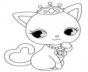 Coloriage Jewelpet kya