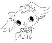 Coloriage Jewelpet peridot