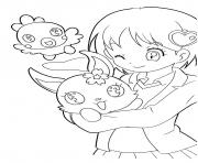 Coloriage Jewelpet 8