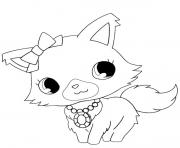 Coloriage Jewelpet 1