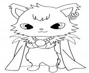Coloriage Jewelpet dian