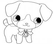 Coloriage Jewelpet kite