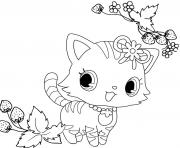 Coloriage Jewelpet linh dessin