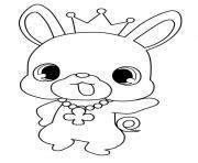 Coloriage Jewelpet king