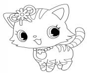 Coloriage Jewelpet linh