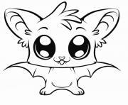 Coloriage Animaux Mignon à Imprimer Gratuit Sur Coloriageinfo