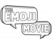logo emoji monde secret des emojis dessin à colorier