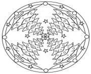 Coloriage Mandala De Noel A Imprimer Gratuit Sur Coloriage Info