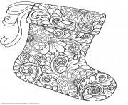 Coloriage christmas mandala sapins de noel dessin