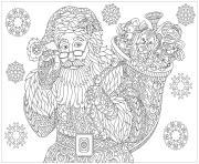 Coloriage Noel Adulte A Imprimer Gratuit Sur Coloriage Info