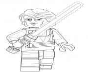 Coloriage lego star wars anakin skywalker
