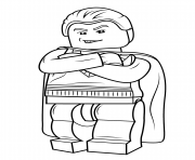 Coloriage lego draco malfoy harry potter