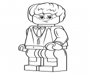 Coloriage lego harry potter harry potter